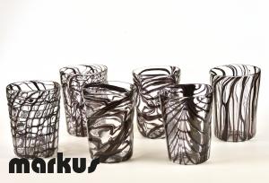 Set bicchieri Dark