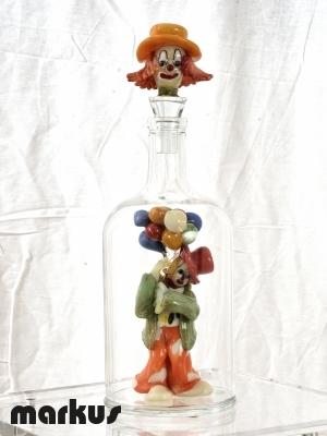 Clown in bottiglia