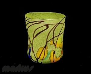Lime Kandinsky Glass ''Goto''