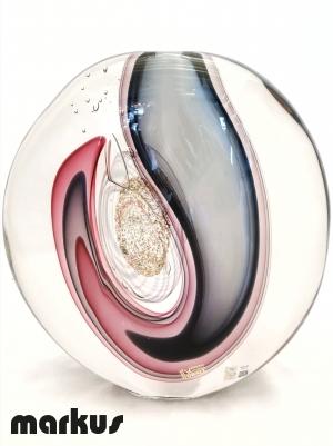 Submerged Eccentric Vase - Amethyst