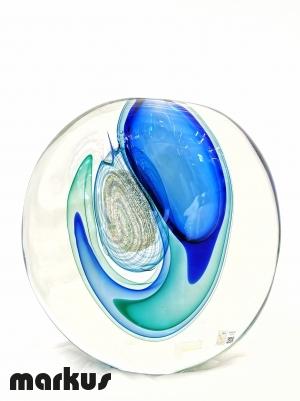Submerged Eccentric Vase - Blue