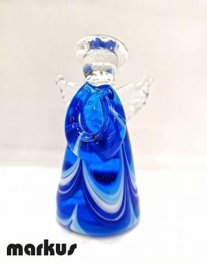 Fenicio Angel Lampwork Blue-Light Blue color