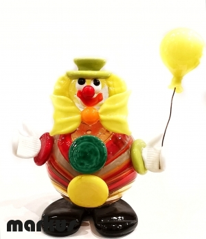 Clown with Baloon