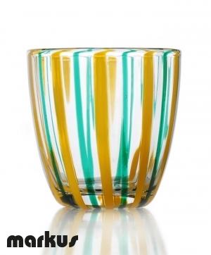 Bicchiere in vetro di Tumbler N 17