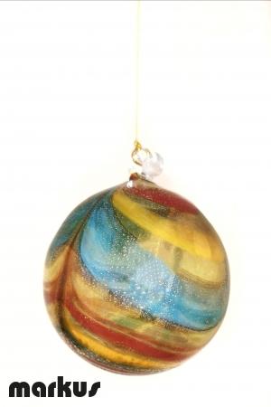Palle di Natale in vetro soffiato Fenicio