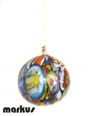 Palle di Natale in vetro soffiato Murrina