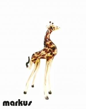 Giraffa In Vetro Piccola
