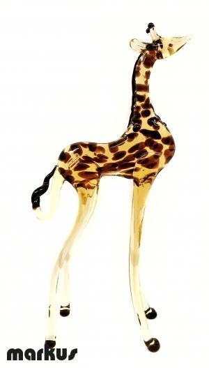 Giraffa In Vetro Gigante