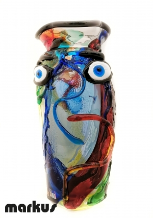 Abstract Face Vase _3