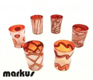 Set of 6 glasses Goti by Vio