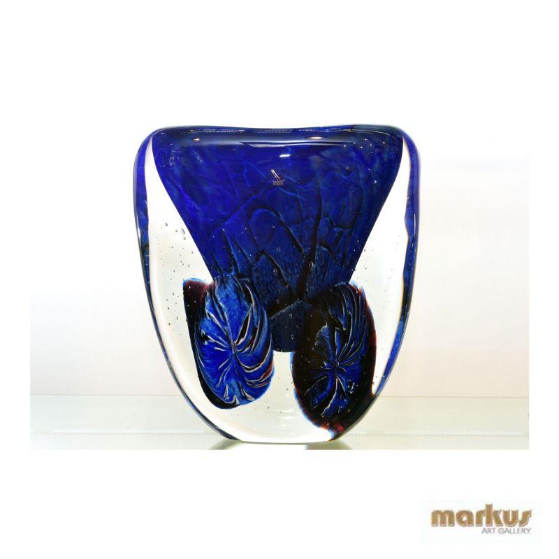 Vaso profondo blu for Vaso blu